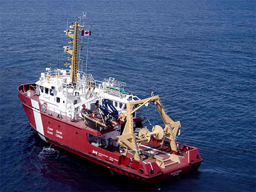 Deck Equipment For 22m And 22m Canadian Coast Guard