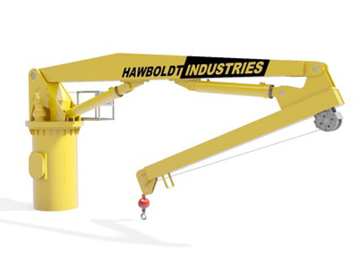 Knuckle Boom 2 to 100 ton capacity